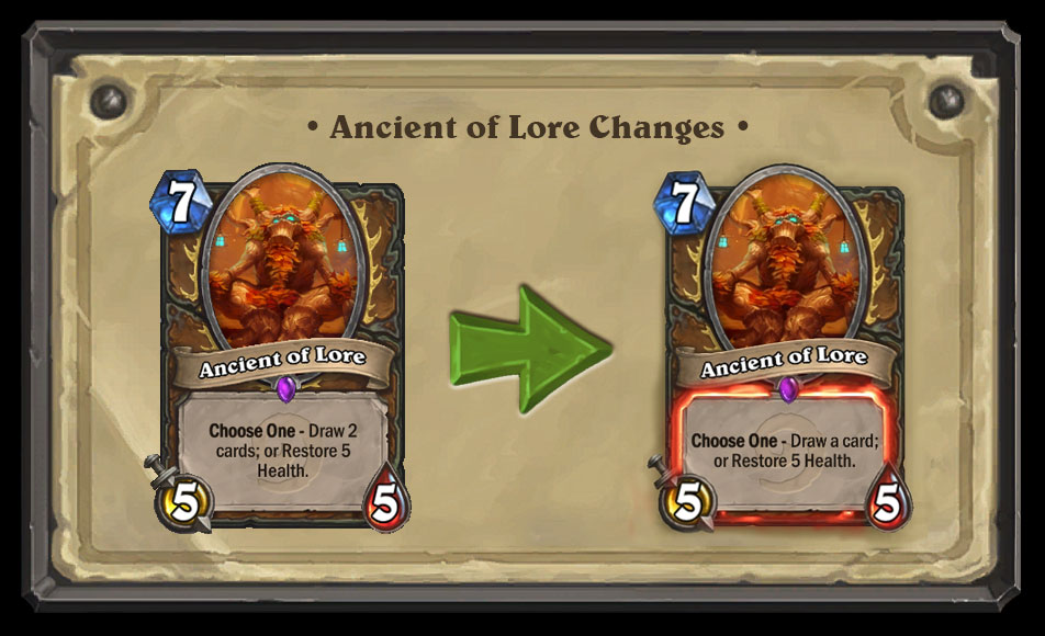 Ancient of Lore Nerf