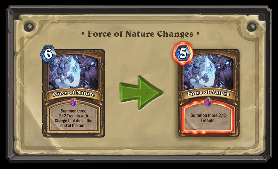 Force of Nature Nerf