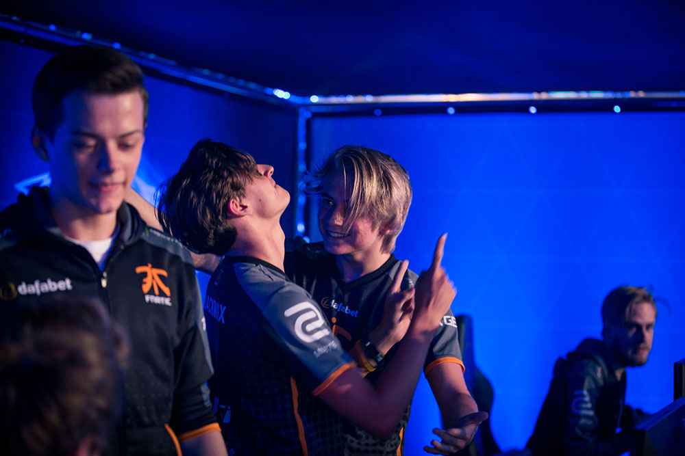 Fnatic after win