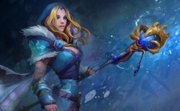 Dota player Crystal Maiden