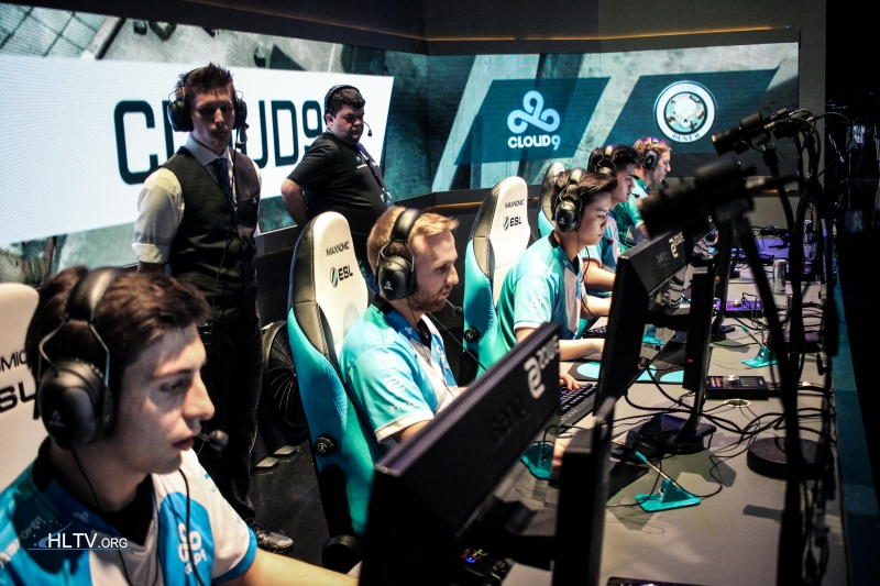 Cloud9 lineup at EPL S4