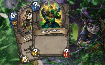 Jade Lotus Hearthstone