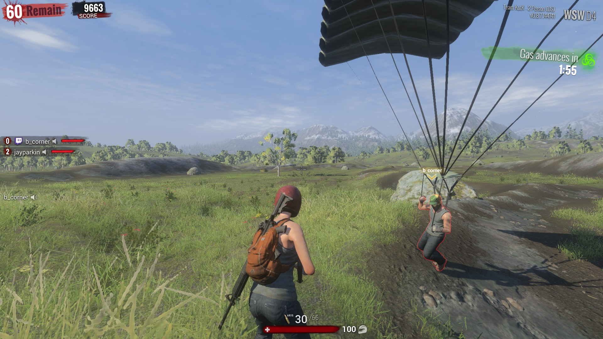 Welcome to H1Z1: King of the Kill, the most intense parachute simulator known to man.