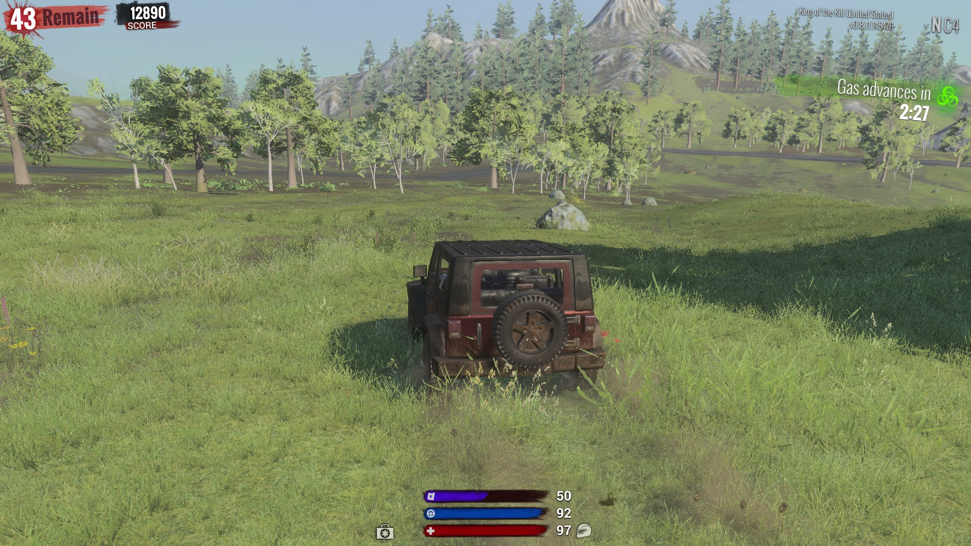 Cars are scarce in H1Z1: King of the Kill. Be careful, because it's easy to run out of gas.