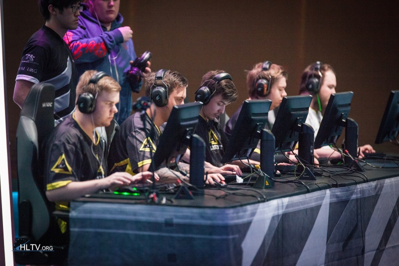 GODSENT lineup at ELEAGUE major qualifier