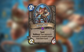 Dirty Rat isn't even that dirty. Literally unplayable.