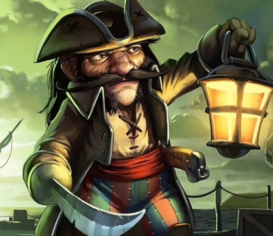 Small time buccaneer banner