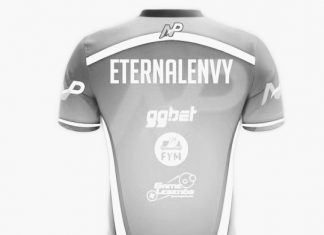 Team NP Jersey with sponsorship logos.