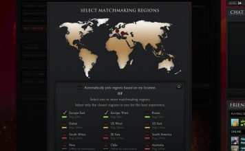 Dota Matchmaking Regions