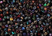This image shows all of the different rings that you can find in Path of Exile. Rings are one of many different types of loot that players can acquire.
