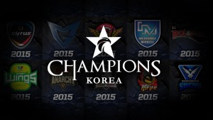 League of Legends Champions Korea