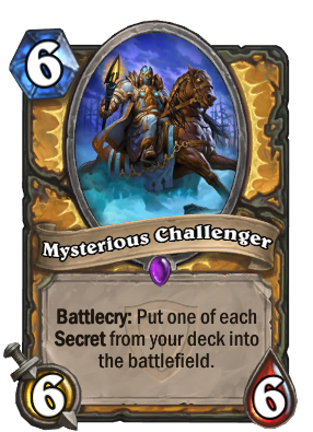 Mysterious Challenger