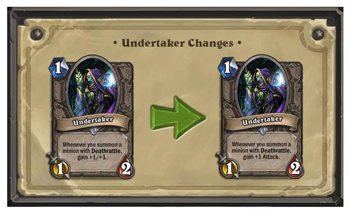 undertakerchanges
