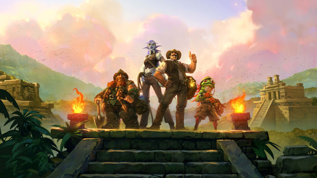 The heroes of the League of Explorers