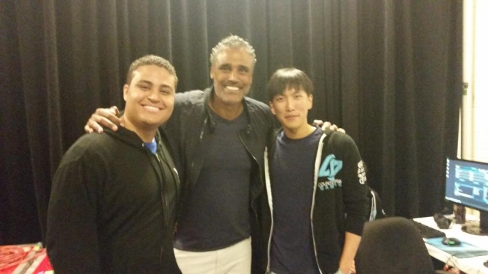 Rick Fox with Kyle Fox and Doublelift