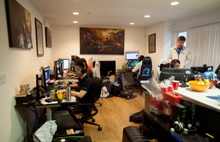 Team Liquid's gaming house was photographed last year by Business Insider.