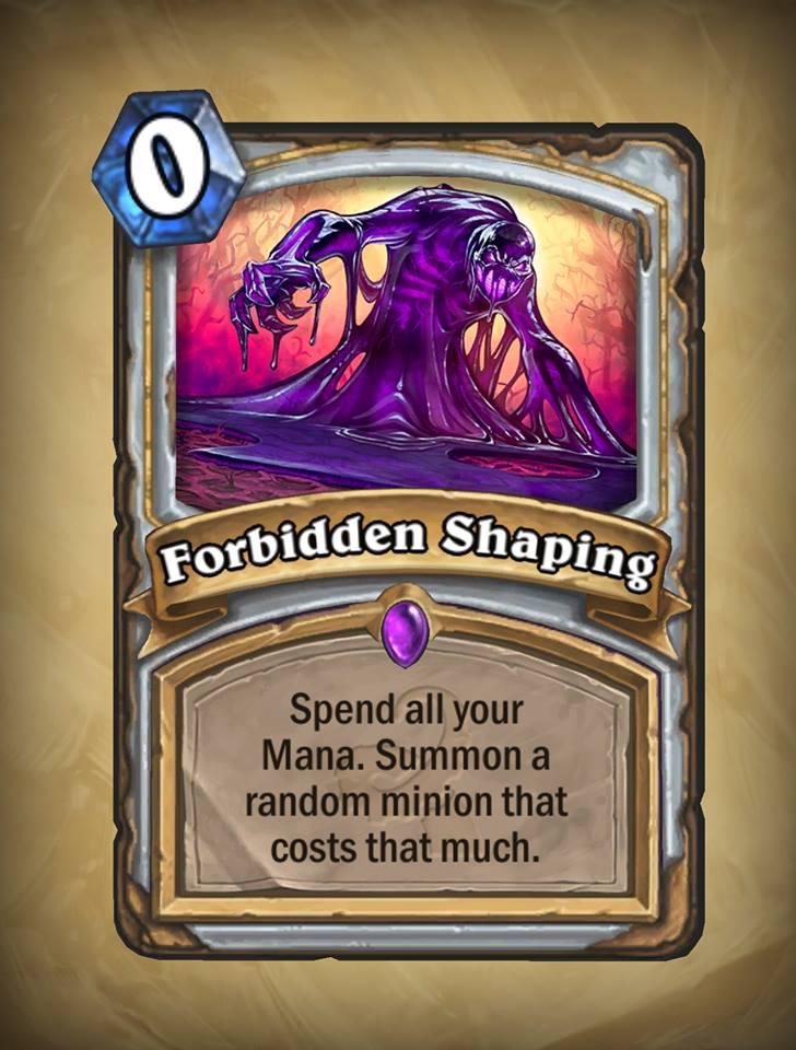 Forbidden Shaping