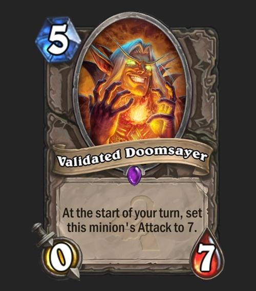 Validated Doomsayer