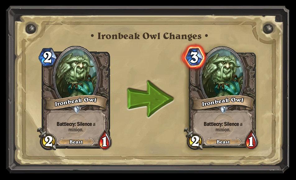 Ironbeak Owl Nerf