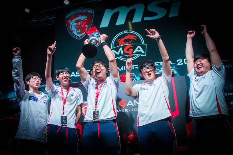 MVP Black win at MSI Masters Gaming Arena—their first premier title with many more to come....