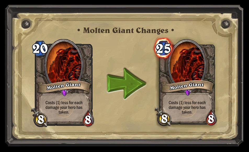 Molten Giant nerf