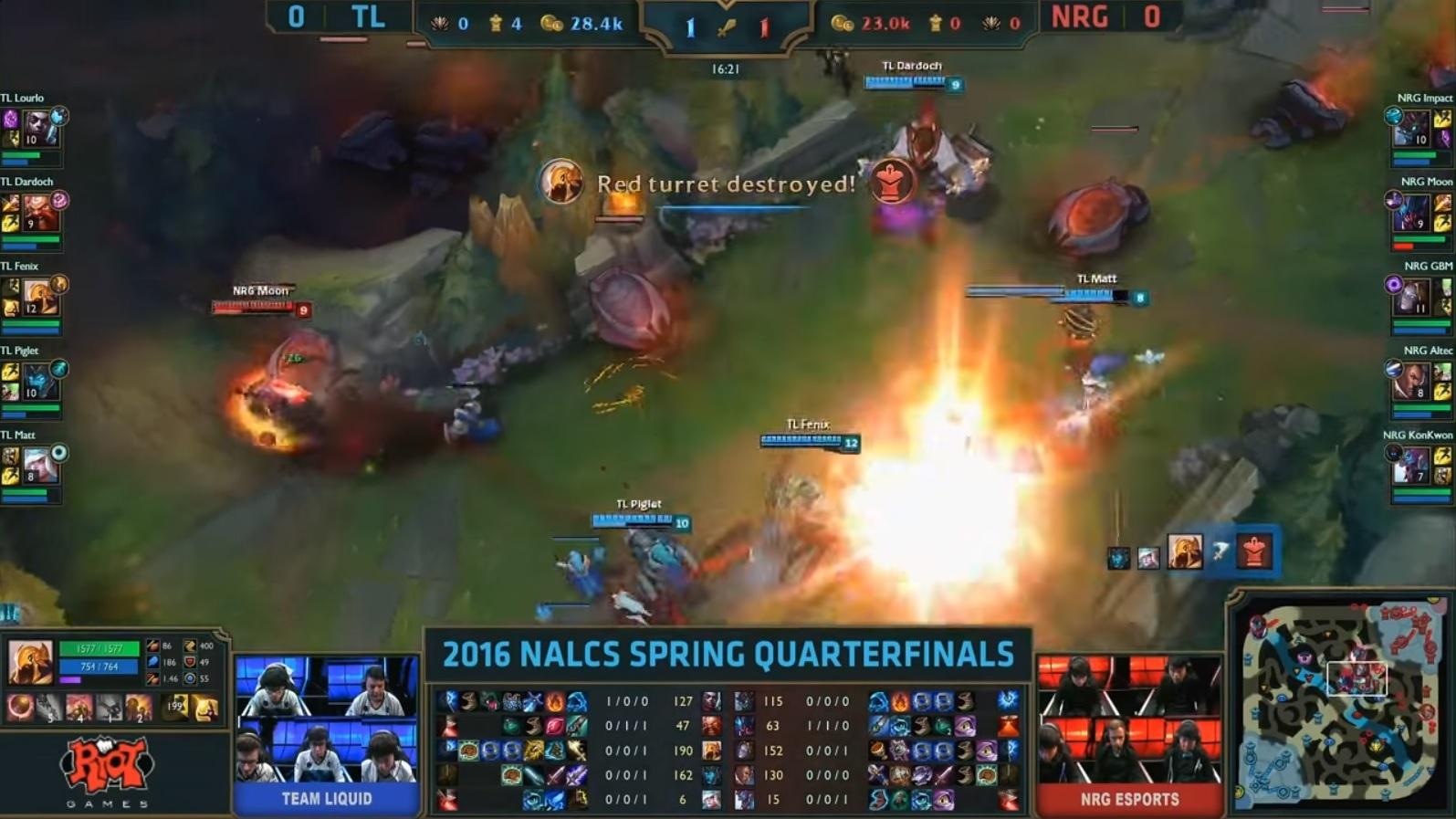 NRG v TL Game 1