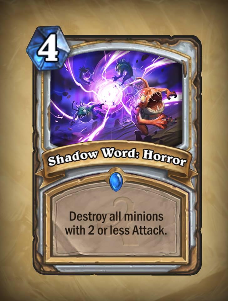 Shadow Word Horror priest