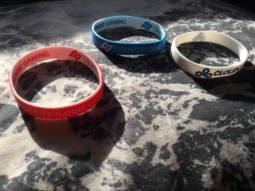 CLG Cloud9 Wristbands
