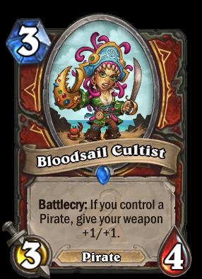 Bloodsail Cultist pirate warrior deck