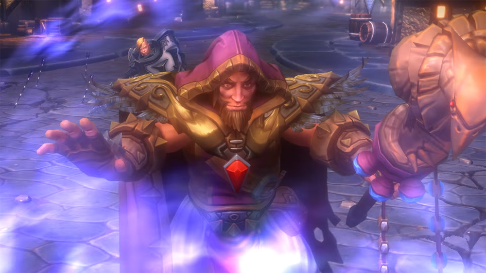 Medivh using Force of Will