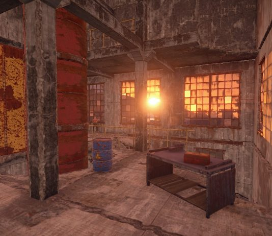 A building in Rust