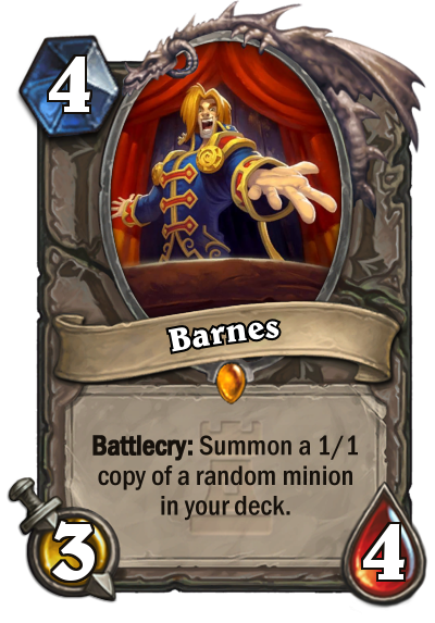 Barnes is Y'Shaarj ing in