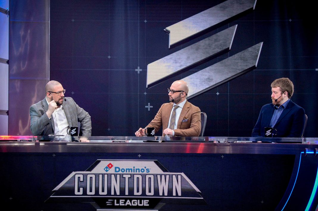 That's a nice desk you've got there, ELEAGUE.