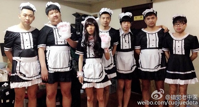 IG promised to do a maid cosplay if they won the Redemption Vote for The Summit 3