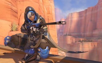 Overwatch Ana screenshot