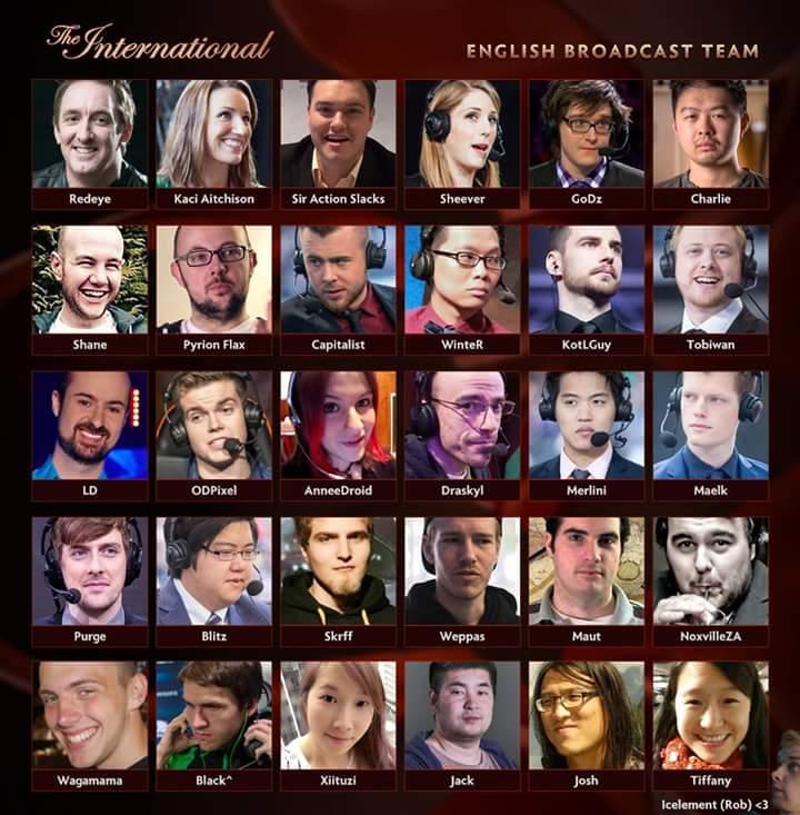 The International 2016 Talent