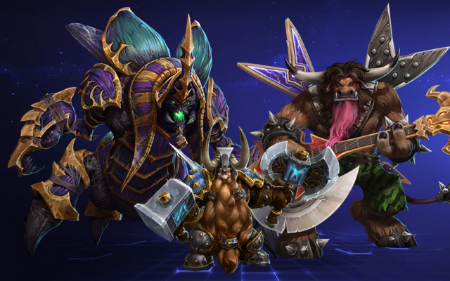 Tanks in Heroes of the Storm