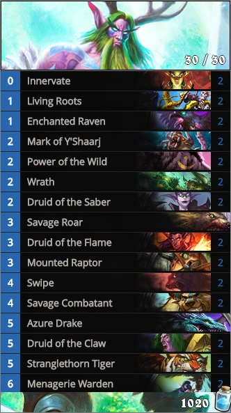 Beast druid decklist