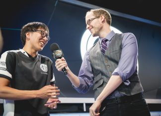 Doublelift on stage