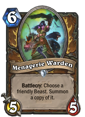 Beast Druid centerpiece