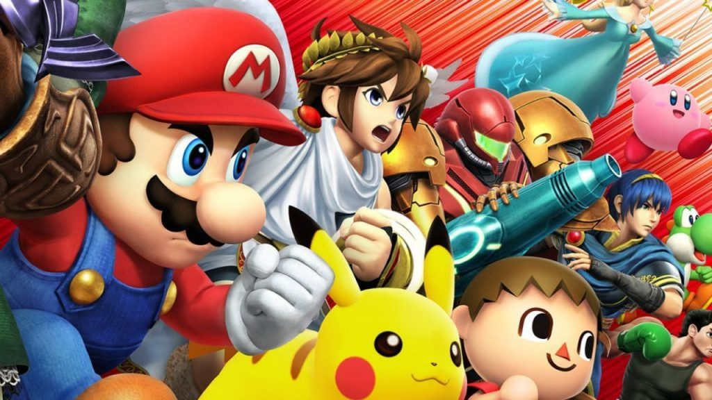 super smash bros for wii u fighting game ?