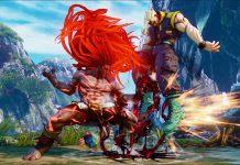Juggling in Street Fighter V