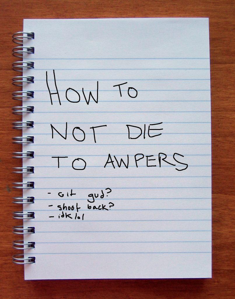 AWP Lessons Peeking