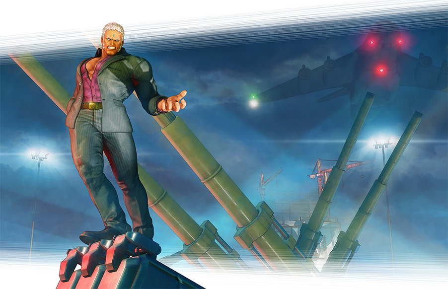 Urien SFV character revealed