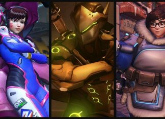 Mei, Genji and D. Va Collage
