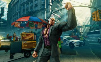 Urien street fighter V screen shot