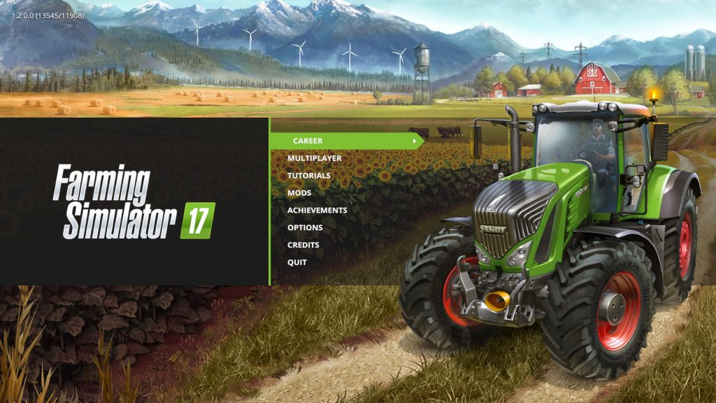 Farming Simulator 17 Title Screen