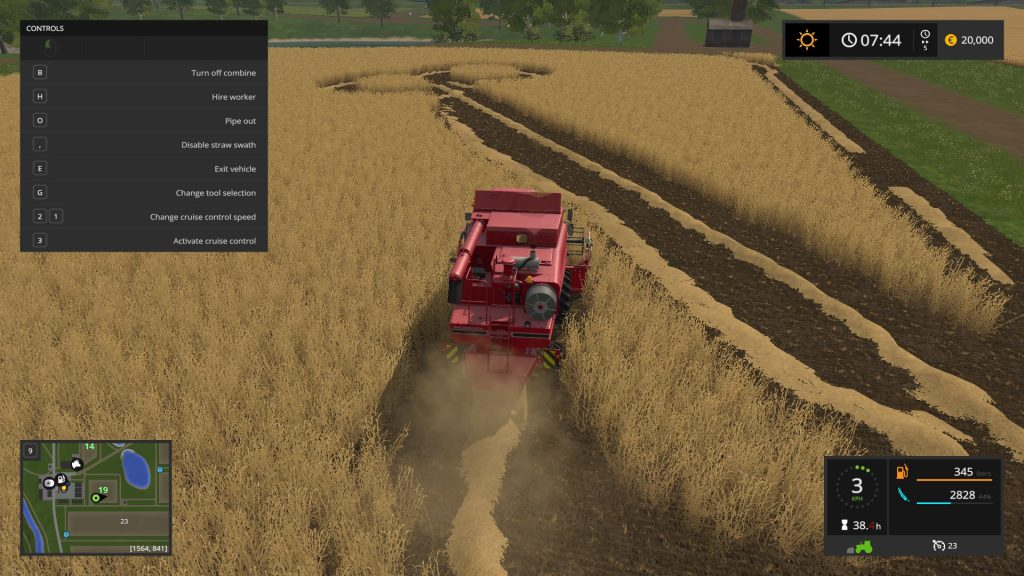 Creating Phallic Shapes in Cornfields, Farming Simulator 17