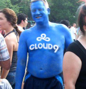 Cloud9 Blue Man