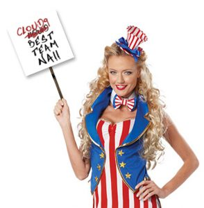 American Flag NA Fan